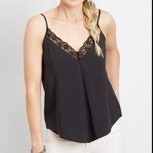 🆕 NWT Maurice's lace deep v-neck tank